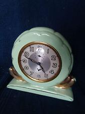 """horloge cartel en céramique vert marque """"BLANDY"""""""
