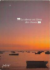 B49662 Rivage La silence est l'ame des choses boats bateaux    france