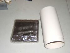 Vent Axia Wall KIT for VA100 fans New Brown external Grill (no logo) un boxed