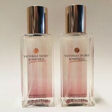 2 Victoria's Secret Bombshell Seduction Mini Fragrance Mist Spray 2.5 Oz Travel