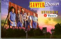 Sawyer Brown Outskirts Of Town 1993 Cassette Tape Country Folk Rock Western