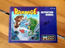 RAMPAGE NES INSTRUCTION BOOKLET