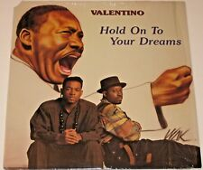 VTG VINYL RECORD VALENTINO HOLD ON TO YOUR DREAMS BLACK SOCS BSR7771 HIP HOP MLK
