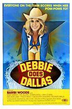 """Debbie Does Dallas Movie Poster Mini 11""""X17"""""""