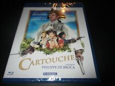 "BLU-RAY NEUF ""CARTOUCHE"" Jean-Paul BELMONDO, Claudia CARDINALE"