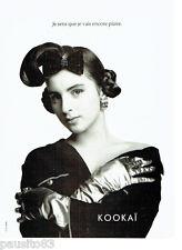 PUBLICITE ADVERTISING 056  1987  Kokai pret à porter mode 7