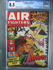 Air Fighters Comics #2 CGC 8.5 Crowley Pedigree 1942 1st app Airboy