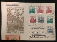 1961 Kolleda East Germany DDR First Day Cover FDC Goethes Garden House