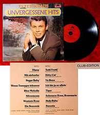 LP Peter Kraus: Unvergessene Hits (Polydor 31 457 5) Club Edition