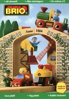 Brio Spielzeugkatalog 1998 Prospekt Holzeisenbahn Holzspielzeug catalog toys