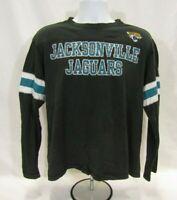 Men's Large Black Long Sleeve Jacksonville Jaguars NFL T-Shirt
