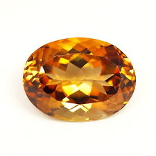 Top Big Topaz: 24,59 CT natural Orange champagne topacio procedentes de Brasil
