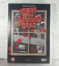 George A. Romero NIGHT OF THE LIVING DEAD-DVD-1968-B&W-Remastered-Region 2