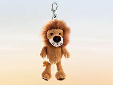 Rudolph Schaffer Kumba Lion Key Ring - SC164, Golden Brown , Metal & Plush