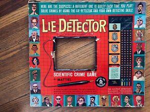 mattel lie detector game