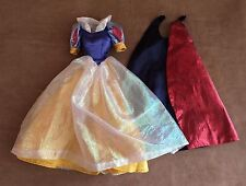 Snow White doll dress deluxe replacement barbie sized Disney store cape princess