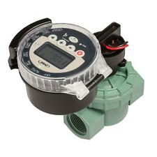 Battery Operated Timer Valve Battery Back Up Expandable Irrigated Freestanding