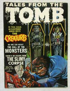 TALES FROM THE TOMB V.2 #5  October 1970   Eerie Pub.