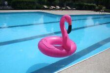 Flamingo Inflatable Swimming Pool Raft Float, Pink flamingo pool float tube