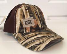 CAT Caterpillar REALTREE Camo and Brown Cat Hat / Cap