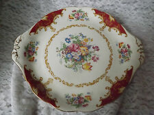 Royal Albertb bone china beautiful Canterbury eared cake plate