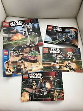 Star Wars Lego Pamphlets Lot of 5 (4501, 7655, 7654, 6206, 7657)