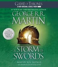 George R. R. MARTIN / [A Song of Ice and Fire #3] A STORM of SWORDS  [ Audio ]