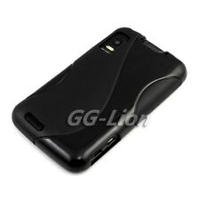 black.TPU Gel Silicon Case Skin Cover for Motorola Atrix 4G MB860 ME860