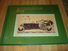 Awesome 1975 Vintage book - Automobile Quarterly Castle Full of Cars Filipinetti