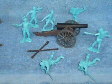 Classic Toy Soldiers 1/32nd scale Civil War Union artillery gun and crew
