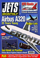 JETS MONTHLY 2012/03 MAR Fanjet 600,Gnat,A320,Saab 32,British United,U-2,Panther