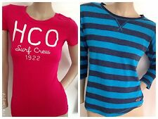 XS 2 Holister Tee / Tshirt / Top Bundle HCO Top And Stripe top Both Size  RRP£47
