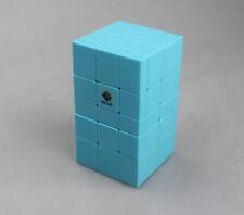 Cubetwist Irregular Magic Mirror  Cube  Puzzle Twist Toy Gift Blue 2H