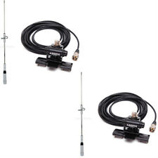 2X Nagoya NL-770S Antenna + RB-400 Car Trunk Lid Hatchback Clip+5m Cable Radios