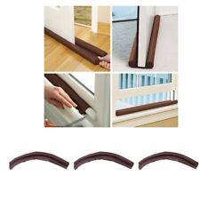 3 Pieces Under Door Draft Blocker Cloth Draft Door Stopper Bottom Seal