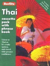 Thai Cassette Pack with Phrase Book, , New Book
