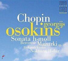 CHOPIN: SONATA H-MOLL; BERCEUSE; MAZURKI OP. 59; BARKAROLA FIS-DUR; NOKTURN H-DU