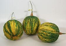Designer Decorative One Artificial Faux Fake Casaba Melon Fruit