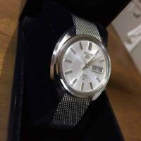 Seiko Seiko 5 Day Date Used Deluxe Automatic Mens Watch Authentic Working