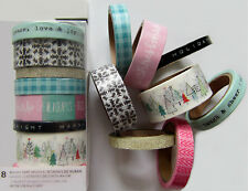 "New Line! Crate Paper  ""SNOW & COCOA""  Decorative Tape  [Save 30%]"