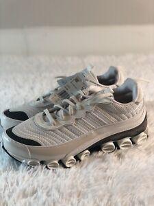RARE Adidas Microbounce Bounce T1 Shoes Sz 14 $160 Mens White Cloud Grey FX1383