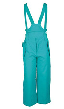 NEW Mountain Warehouse Kids Ski Trousers Salopettes Girls Turquoise Teal Age 2-3