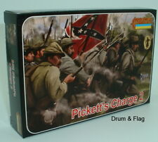 Strelets Set 152 Pickett's Charge 2. Gettysburg Confederate Infantry ACW 1/72