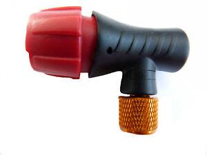 Bicicleta CO2/bomba de bicicleta inflador Presta Schrader 5/x 16/G cilindros de gas Mikrobo