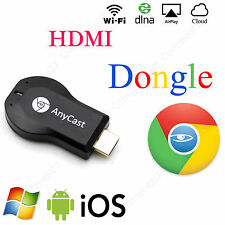 Allcast Media Player Tv Stick Google ChromeCAST Dongle Push Cromo fundido Mac Usb