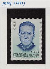 CHILE 1994 STAMP # 1693 MNH CATHOLIC RELIGION REVEREND A. HURTADO