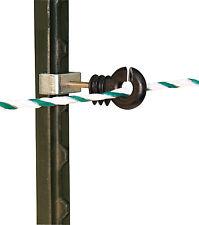 Seil-, Eckisolator für T-Post, T-Pfosten, 4 Stück Set