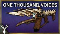 Thousand Voices Exotic Farm 1 Final Boss Drop PS4 XBOX PC