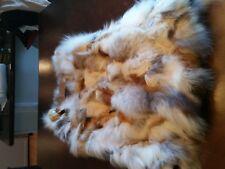 Rabbit Vest (tan & white)
