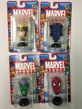 Set of 4 Swicherz Heads Wolverine Green Goblin Beast Spiderman X-men